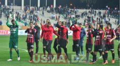 Ligue 1 – 20e journée : USM Alger 2-1 CRB Belouizdad