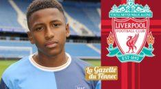 La pépite Yasser Larouci en route pour Liverpool !