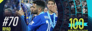 Premier League : Mahrez 70ème au classement des 100 meilleurs joueurs étrangers