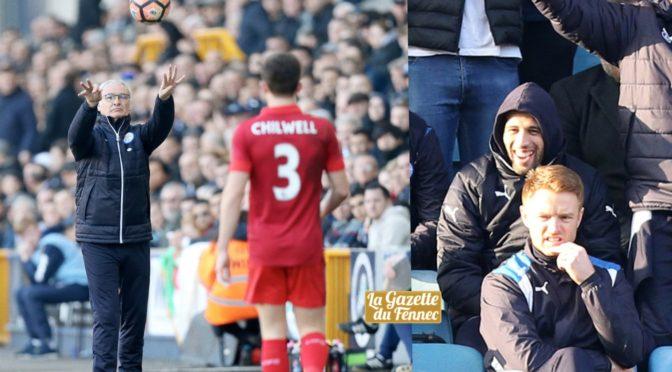 Coupe d'Angleterre : Leicester City éliminé en l'absence de Slimani et Mahrez
