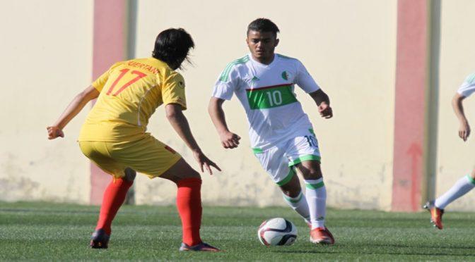 Sélection A' : match nul face au NA Hussein-Dey (0-0)