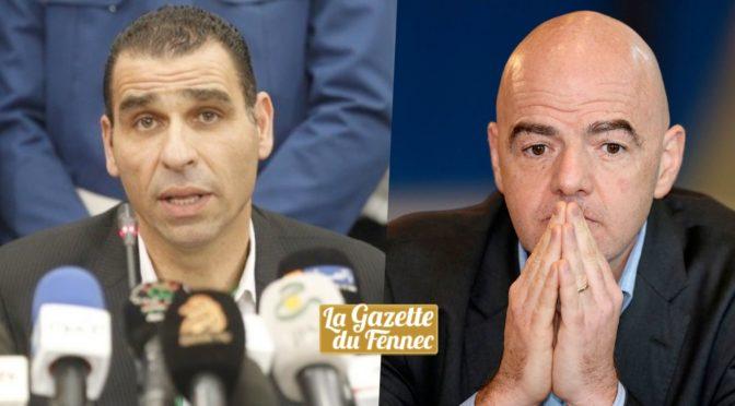 FIFA : Zetchi bientôt invité à Zurich pour rencontrer Infantino
