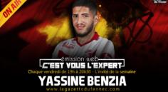 C'est vous l'Expert : Yassine Benzia invité à l'antenne, Alcaraz au centre du débat !