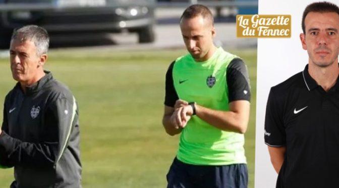 EN: Jesus Canadas, entraineur adjoint et Miguel Angel Campos, préparateur physique