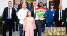 EN : Lucas Alcaraz débarque à l'aéroport d'Alger !