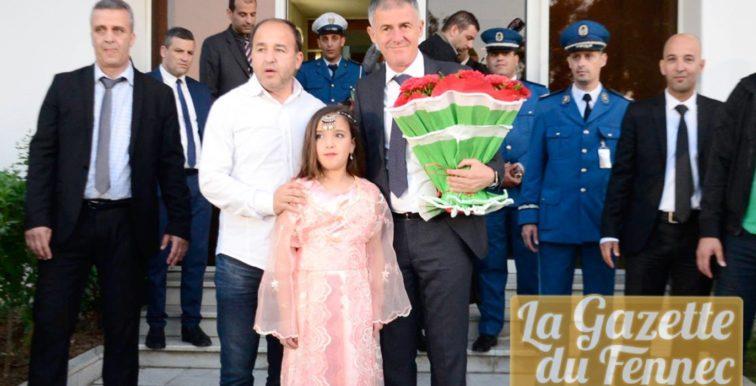 EN : Lucas Alcaraz est arrivé à Alger !