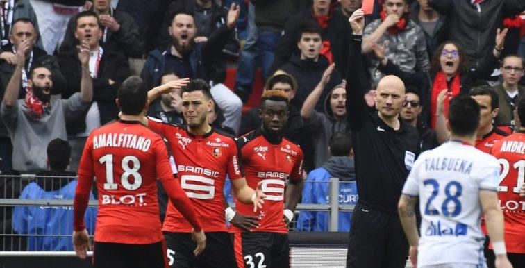 Stade Rennais : 2 matchs de suspension pour Bensebaïni