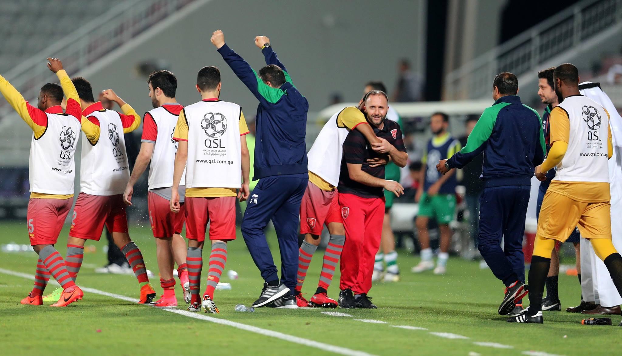 djamel belmadi coach joie lekhwiya champion qatar 2017