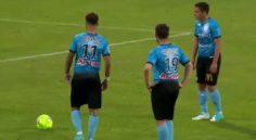 Tours FC : Ismael Bennacer ouvre son compteur but d'un superbe coup franc !