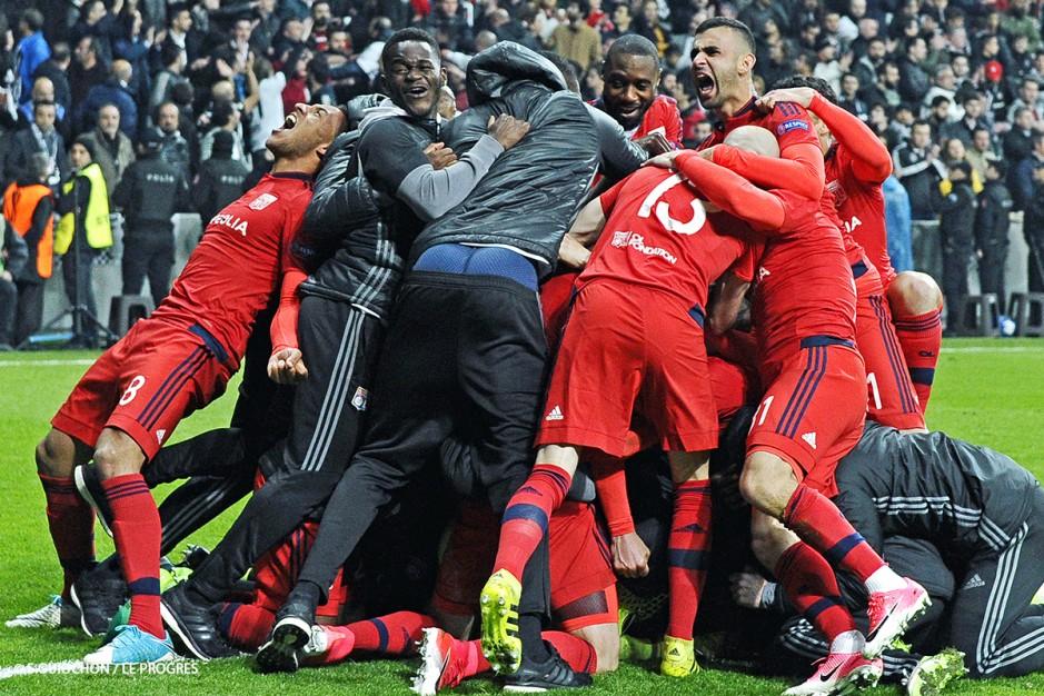 joie Lyon Ghezzal europa league besiktas