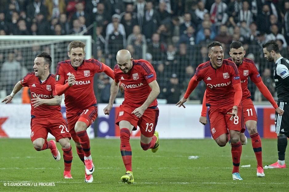 joie lyon ghezzal victoire besiktas europa league