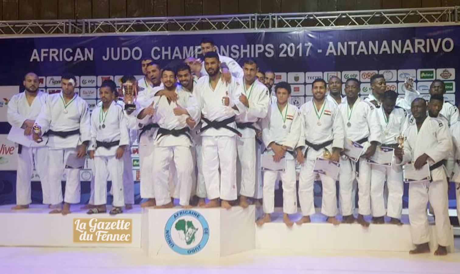 judo maculin podium champion afrique 2017 antanarrivo