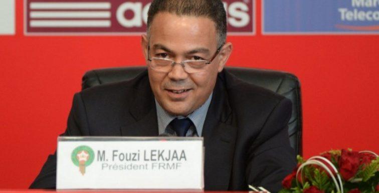 CAF : l'irrésistible ascension de Fouzi Lekjaa