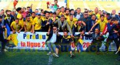 Ligue 2 : le Paradou AC reçoit son trophée de Champion !