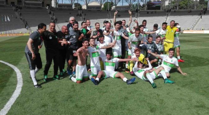 Bakou 2017 : L'Algérie bat le Cameroun (2-0) et remporte le bronze