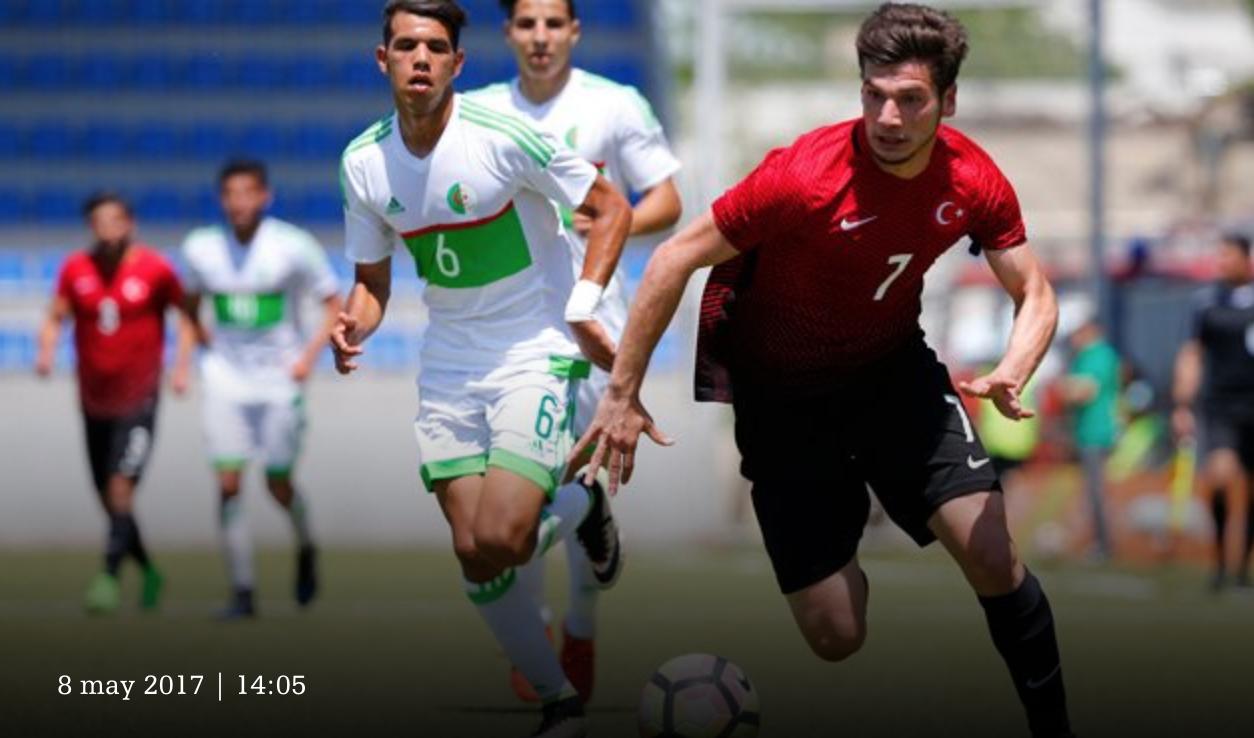 Bakou 2017 Algerie 2 1 Turquie action 2