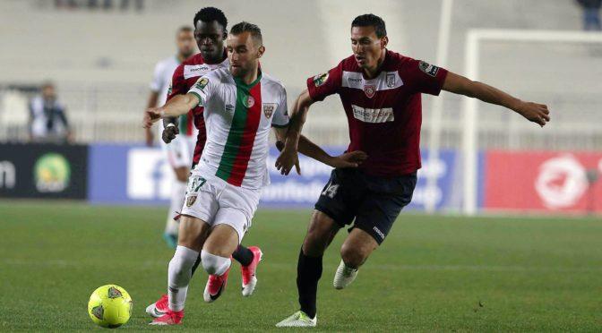 CAF : le MC Alger 4ème au classement des poules