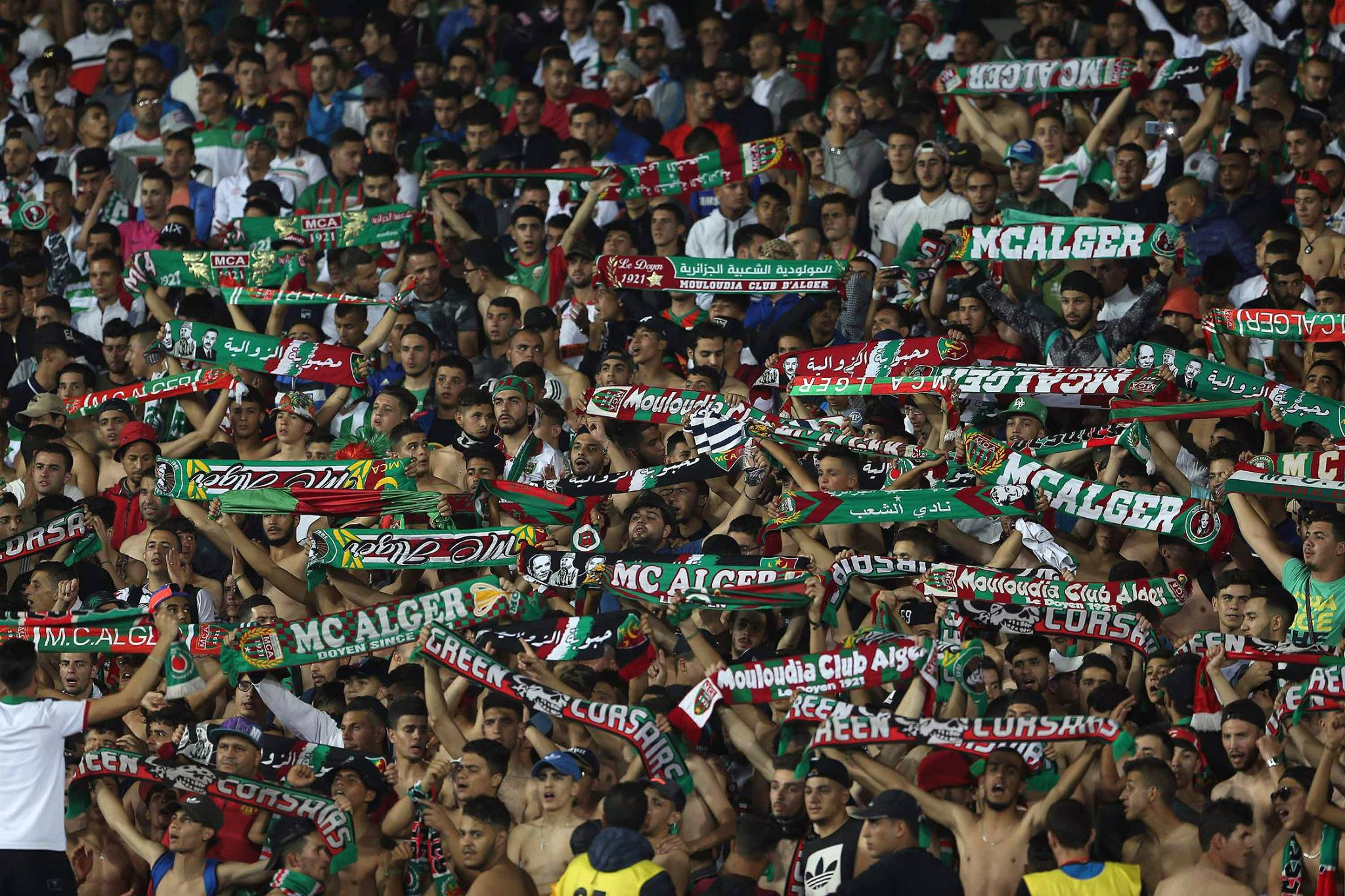 MCA 2-1 CSS supporters mouloudia