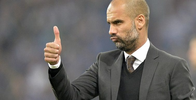 """Guardiola : """"C'est un plaisir de voir jouer Mahrez"""""""