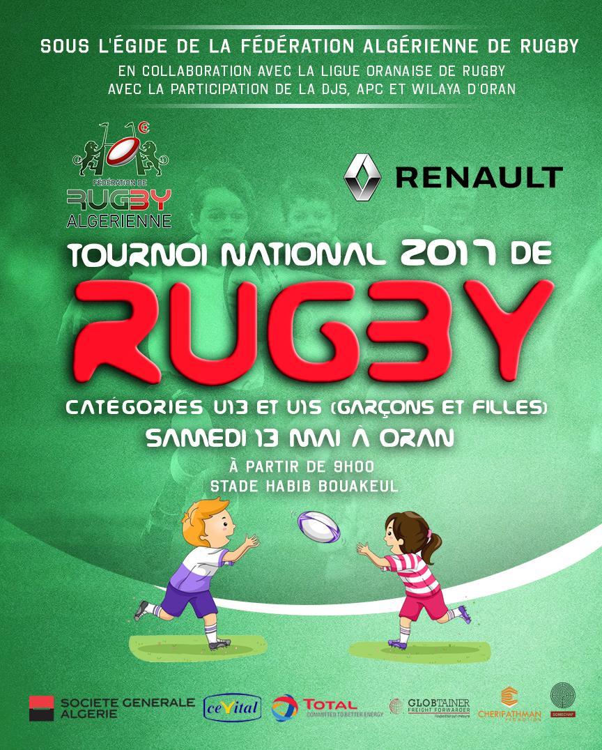 Tournoi rugby 2017 affiche finale