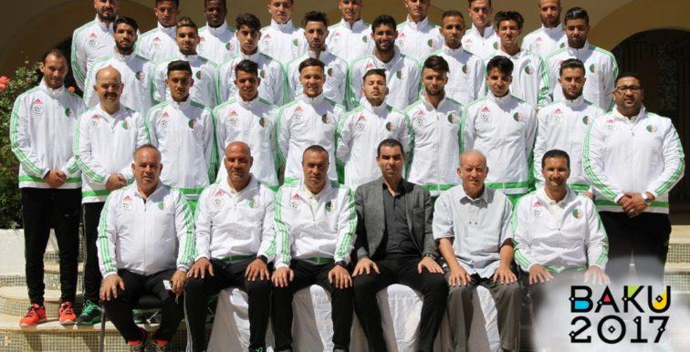 Bakou 2017 : le président Zetchi encourage les joueurs
