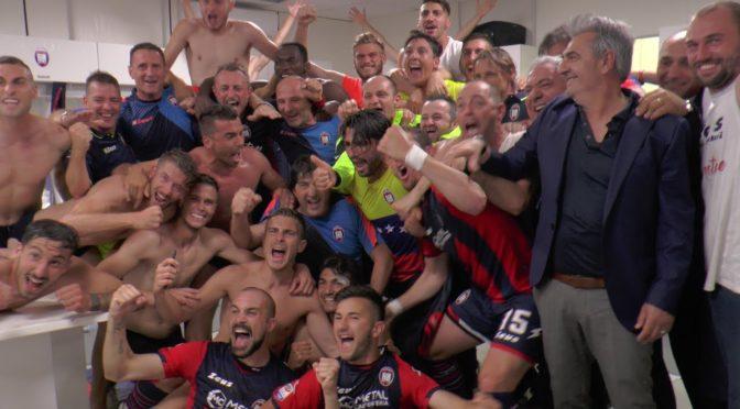 Serie A : immense joie à Crotone qui assure son maintien lors de la dernière journée !