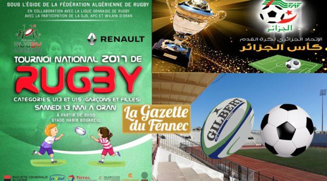 Football et Rugby : Oran accueille les finales des jeunes catégories