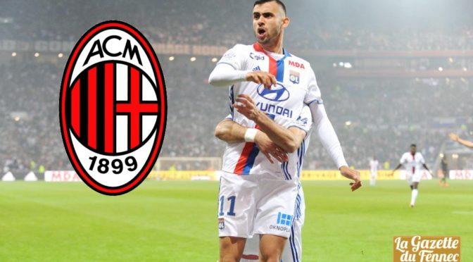 Mercato : le Milan AC a discuté avec les représentants de Ghezzal !