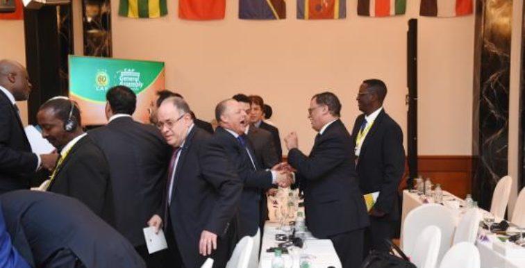 CAF : l'Egyptien Hani Abo Rida élu au Conseil de la FIFA
