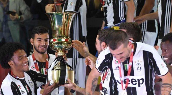 Italie: Mehdi Leris remporte la coupe avec la Juventus !