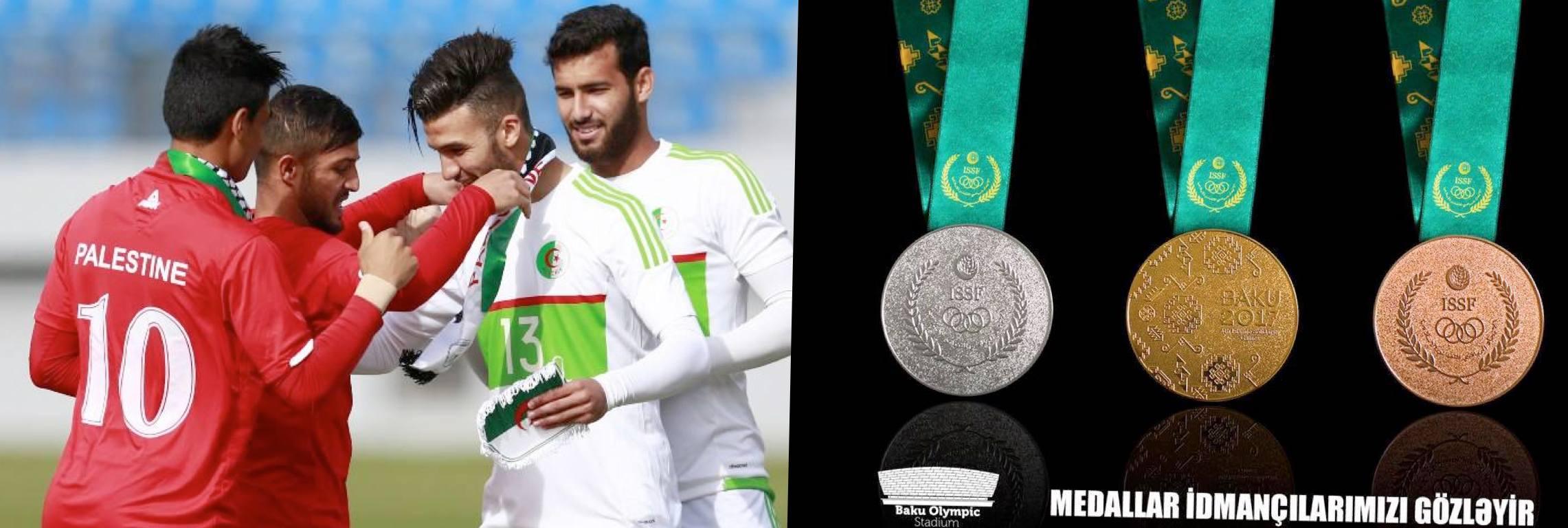 slider palestine U23 medaille bakou 2017