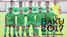 Bakou 2017 : Les Verts face à la Turquie ce lundi