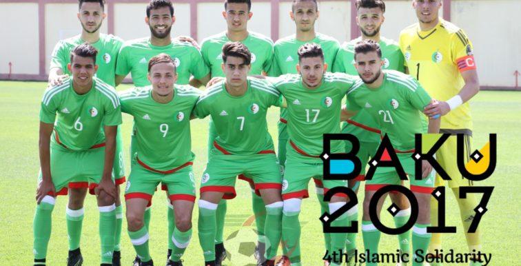 Bakou 2017 : l'Algérie face au pays organisateur en 1/2 finale