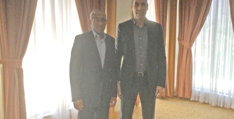 CAF : Zetchi reçu par le nouveau président Ahmad Ahmad