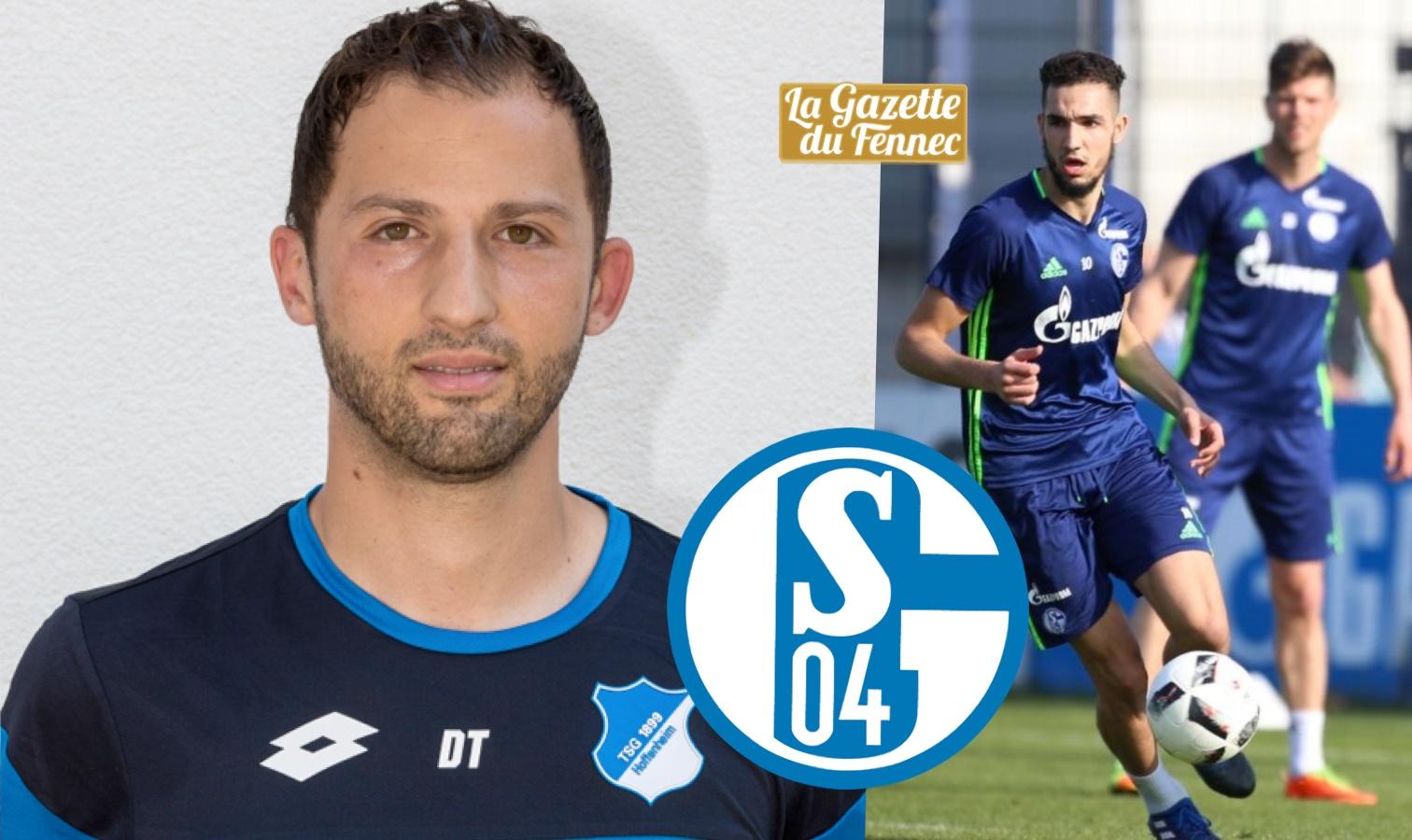 Schalke coach bentaleb domenico tedesco