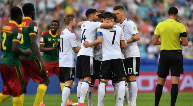 CC 2017 : Allemagne-Mexique et Portugal-Chili, les affiches des demi-finales