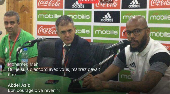 Algérie 1-0 Togo : la conférence de presse d'après match des sélectionneurs