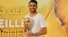 Distinction : Mahrez a reçu son Ballon d'Or 2016 à Sidi Moussa
