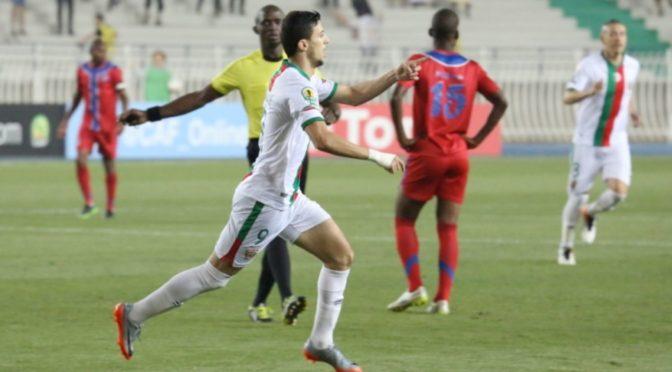 CAF : Nekkache (MCA) 2e au classement des buteurs