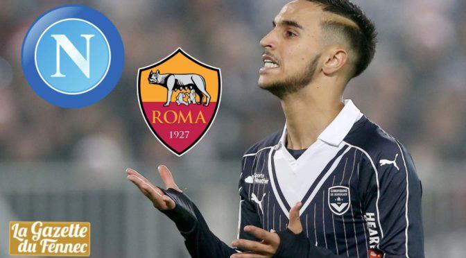 Mercato : Naples offre 6 millions d'euros pour Ounas, l'AS Rome aussi !