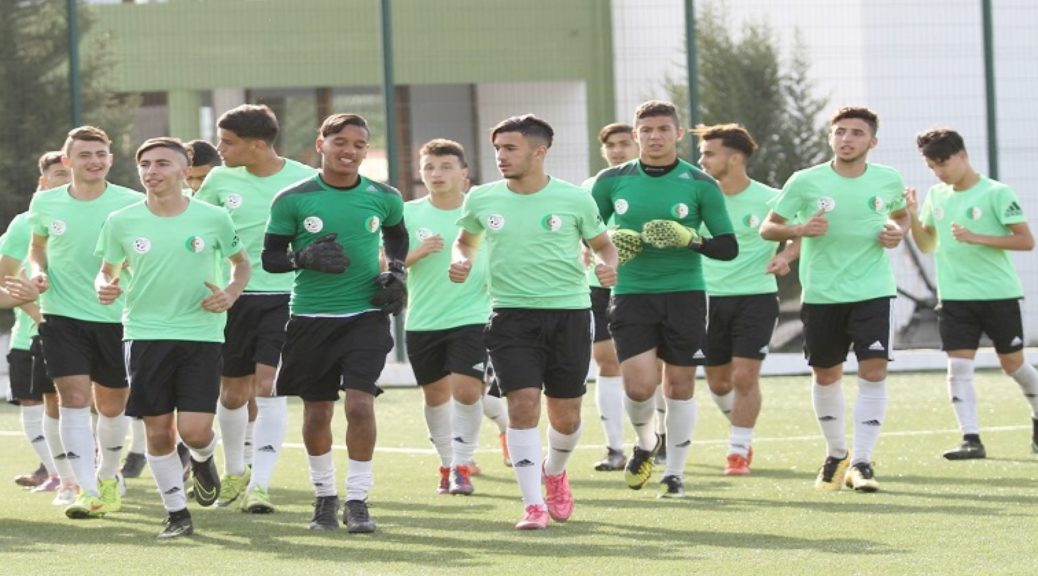 selection U20 stage entrainement
