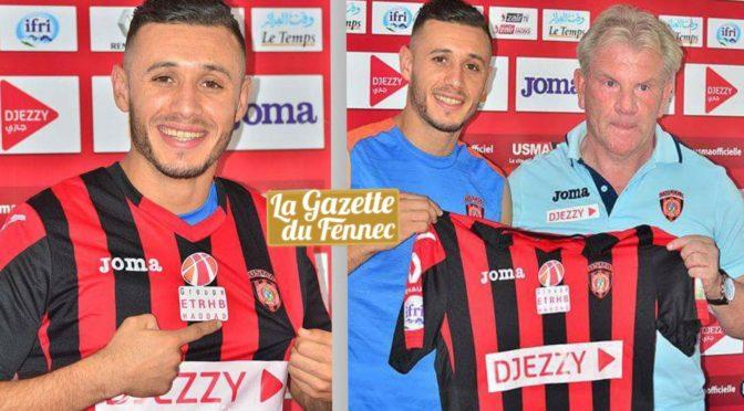 USM Alger : Redouane Chérifi signe pour 4 saisons