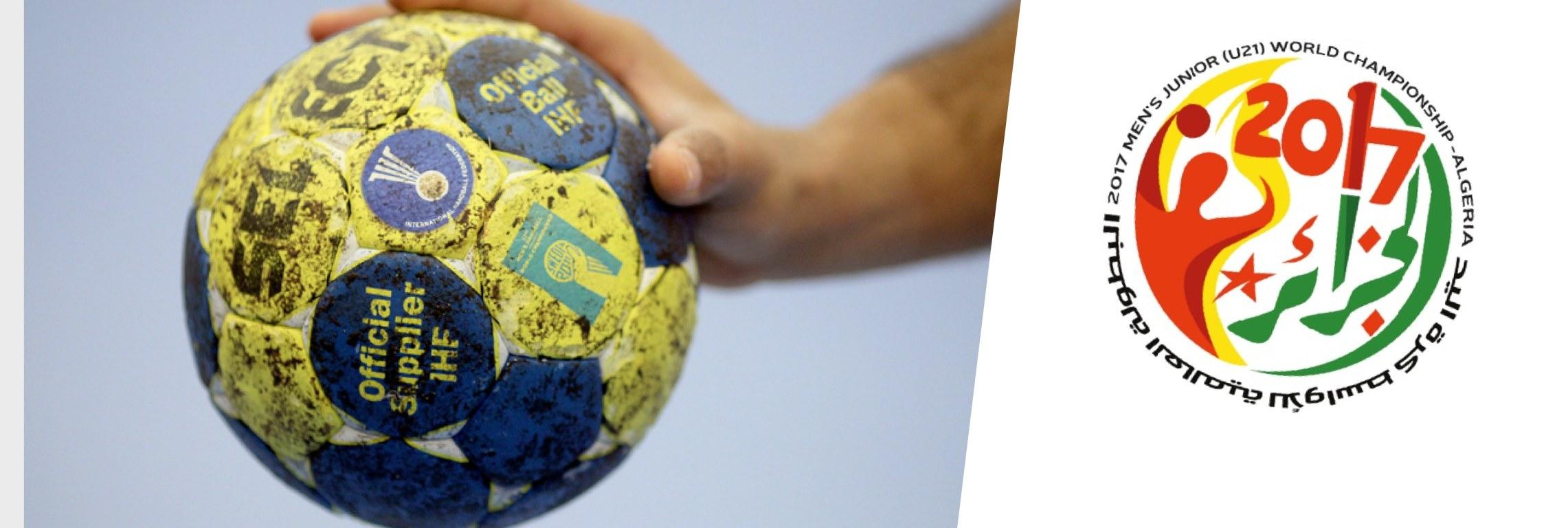 slider handball U21 algeria
