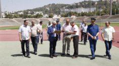 Une délégation de la FAF en visite d'inspection à Constantine
