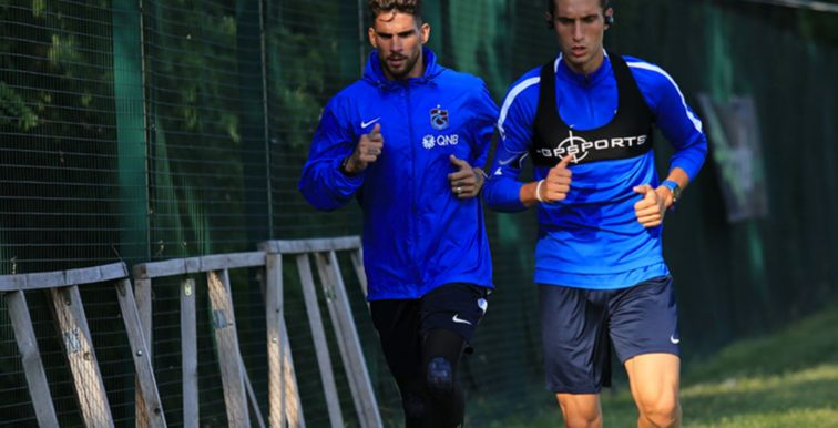 Trabzonspor : Medjani a repris les entrainements