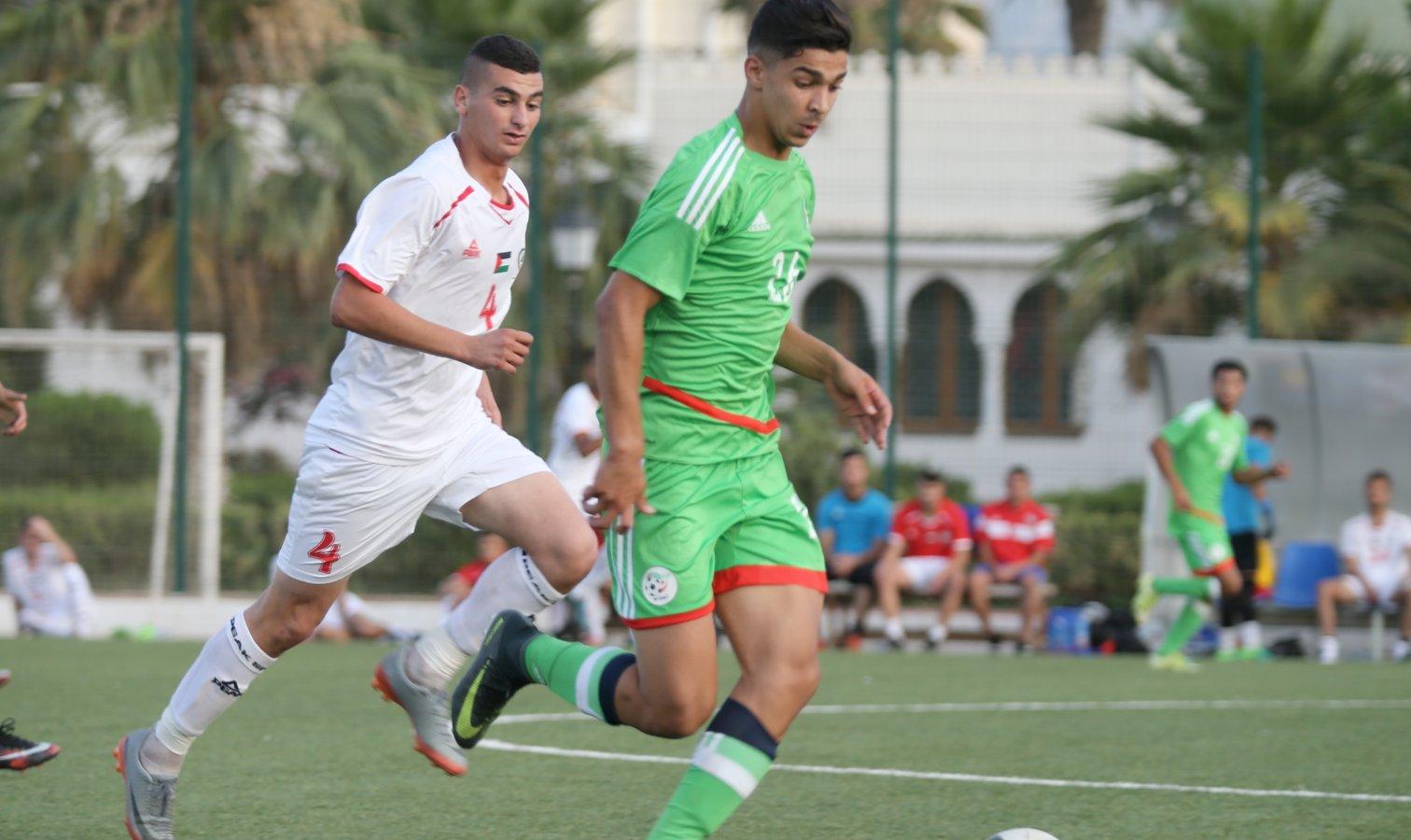 U18 palestine