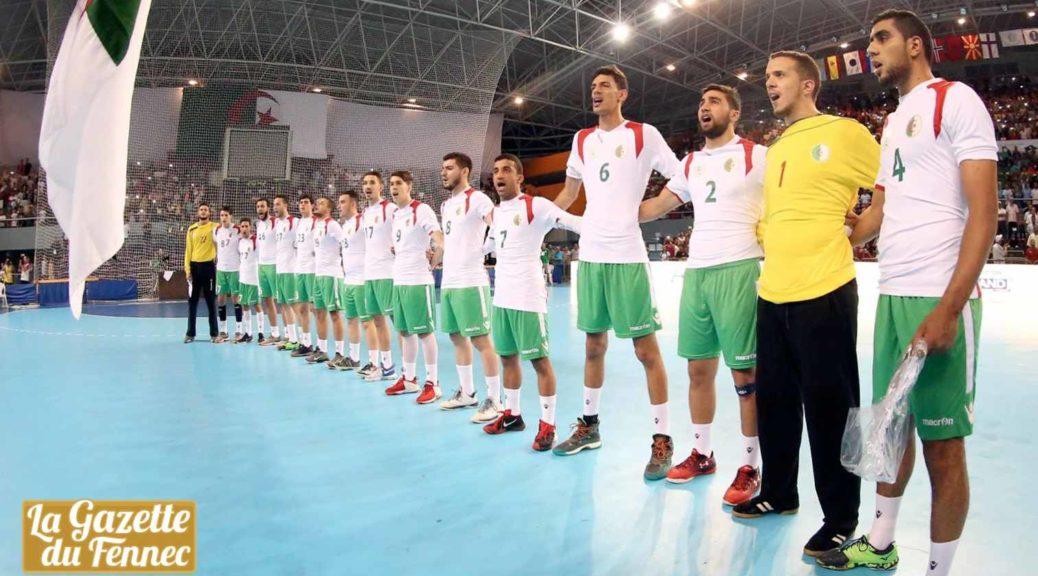 algerie onze u21 handball