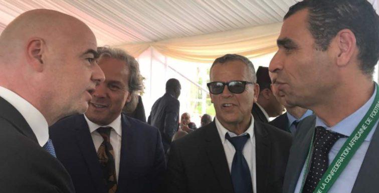 FAF : Zetchi en visite à Zurich pour rencontrer Infantino