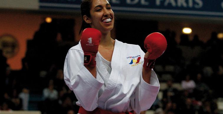 Karaté-Mondial 2017: médaille d'or pour Lamya Matoub