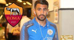 Leicester : Deuxième offre de 30 M€ de l'AS Rome pour Mahrez